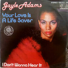 "7"" 1980 ! GAYLE ADAMS Your Love Is A Life Saver /VG+++"