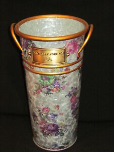Mackenzie Childs Flower Market Flower Bucket Large