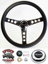 "1967 GTX Satellite Fury steering wheel CLASSIC PLYMOUTH 13 1/2"" Grant"