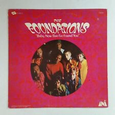FOUNDATIONS Baby Now That I've Found You 73016 LP Vinyl VG++ Cover VG+