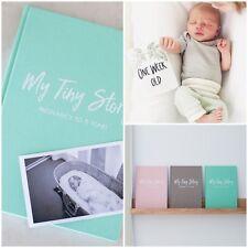 Hello Baby Milestone Cards and Modern Baby Journal Bundle