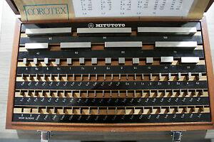 Mitutoyo  -  88-piece Steel Gauge Block Set, Metric, Grade 2   516-972-01