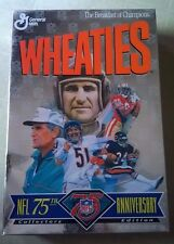 COLLECTOR'S EDITION WHEATIES NFL75th Anniversary 1995 Unopened Cereal Box