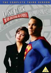 LOIS AND CLARK - THE NEW ADVENTURES OF SUPERMAN SEASON 3 DVD [UK] NEW DVD