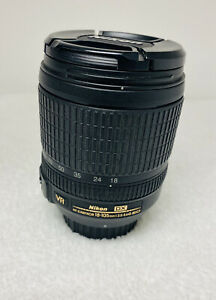 Nikon DX VR AF-S Nikkor 18-105mm 1:3.5-5.6G ED Lens Pre-Owned Free Shipping