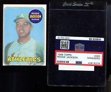 1969 Topps # 260 Reggie Jackson RC ROOKIE PSA MINSIZERQ nm-mt+