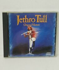 Original Masters by Jethro Tull CD Chrysalis Records 1985