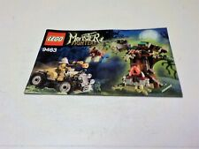 Lego 9463 Instruction Manual only for Monster Fighters