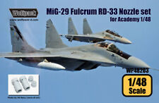 Wolfpack WP48203, MiG-29 Fulcrum RD-33 Engine Nozzle set (for Academy,SCALE 1/48