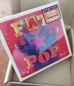 "Paul Weller ""Fat Pop"" 7"" x 6 Box Set Sealed The Jam Style Council"