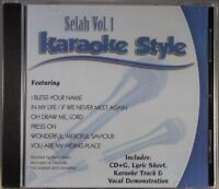 Selah Volume 1 Christian Karaoke Style NEW CD+G Daywind 6 Songs