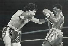 NICKY FURLANO 8X10 PHOTO BOXING PICTURE CANADIAN CHAMPION CANADA