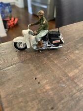 Vintage 1970's Britains Ltd #9692 U.S.Sheriff Harley Davidson Motorcycle Toy