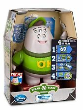 New Monsters Inc University Speak 'N And Scare Squishy Interactive Plush Toy