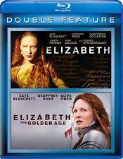 Elizabeth / Elizabeth: The Golden Age - Double Feature [Blu-ray, 2-Disc] NEW