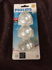 Philips Indoor flood 12 v 20 w halogen set of 3 bulbs