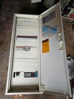Sicherungskasten Unterverteilung Stromkasten Schaltschrank  Verteilerschrank