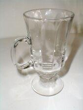 Libbey Clear Glass Pedestal/Footed 8 oz Irish Coffee/Latte Mug/s