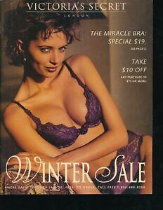 VICTORIA'S SECRET 1995 Winter Sale Catalog SEXY LINGERIE Apparel VERY FINE