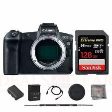 Canon EOS R Mirrorless Digital Camera Body SanDisk 128GB Extreme PRO Memory Card