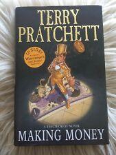 Pratchett Discworld MAKING MONEY 1st/1st hardback + limited edition banknotes