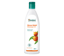 400ml Stress Massage Oil Relieve Stress & Fatigue relaxes Body With Ashwagandha