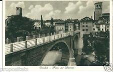 ud 135 Anni 30 - CIVIDALE (Udine) Ponte del Diavolo - non viagg FP Foto Bront