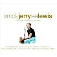 """JERRY LEE LEWIS """"SIMPLY JERRY LEE LEWIS"""" 2 CD NEW+"""