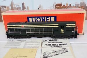 Lionel O Gauge No.8687 Jersey Central Fairbanks Morse Diesel Engine In The Box