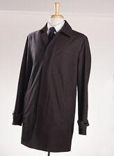 NWT $2495 ERMENEGILDO ZEGNA 'Elements' Reversible Trofeo Cashmere Coat XL (Eu56)