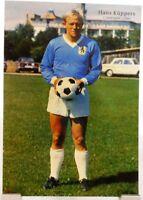 "Hans ""Hennes"" Küppers + Fußball Nationalspieler DFB + Fan Big Card Edition B394"