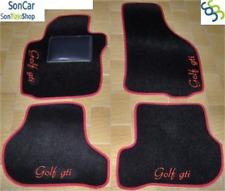 VOLKSWAGEN GOLF VI GTI TAPPETI AUTO GOLF 6 +4loghi+4blk