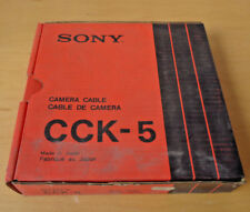 SONY CCK-5 camera cable for old Sony Betamax cameras =NEW=