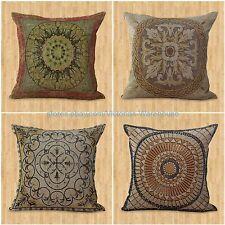 set of 4 cushion covers unity harmony mandala decorative throw pillow covers