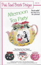 AFTERNOON TEA PARTY Pink Sand Beach Designs #104~Teapot Tea Cozy Sewing Pattern