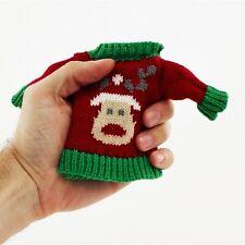 Christmas Style Handwarmer Reindeer Jumper Pocket Hand Size Secret Santa GIft