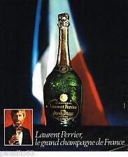 PUBLICITE ADVERTISING 055  1975  LAURENT PERRIER  champagne