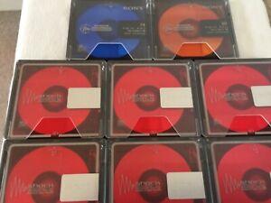 10 Minidisc Sony MD 80 Neu nur ausgepackt !