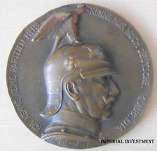 MEDAL - GERMANY PRUSSIA CAST MEDAL -  WILHELM II 1914  # 193