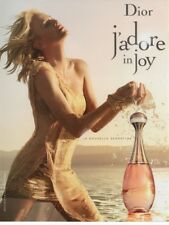 Publicité papier glacé- advertising paper - J'adore in Joy de Dior