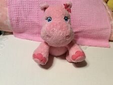 GARANIMALS LOVEY BABY PINK HIPPO PLUSH
