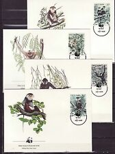 Vietnam 1987 - FDC - Apen / Monkeys / Affen   (WWF / WNF)