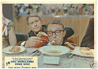 THE INTELLIGENCE MEN 1965 ERIC MORECAMBE & ERNIE WISE LOBBY CARD BRITISH COMEDY