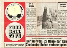 BL 83/84  VfB Stuttgart - Borussia Dortmund (TIP)