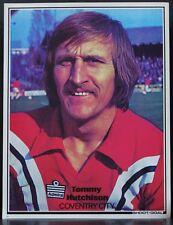 Jugador de fútbol Foto Coventry City disparar Tommy Hutchison