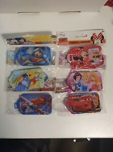Disney Luggage Tags, Micky & Minnie Mouse, Princess, Cars, Planes and Winnie