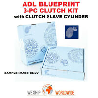 ADL BLUEPRINT 3-PC CLUTCH KIT with CSC for FORD FOCUS Berlina 2.0 16V 1999-2004