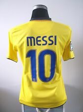 Lionel Messi #10 Barcelona away football shirt jersey 2008-2010 (S)