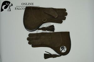 OFS Brown Nubuck Double Layer Glove Fur lined size Large