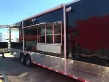 2014 Food Concession Trailer with Bbq Porch & Fully Equipped Kitchen
